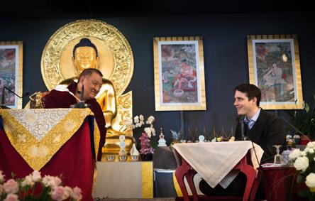 40ans-dhagpo_shamar-rinpoche-homage