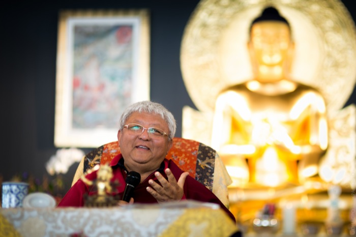 Rinpoche inspires us