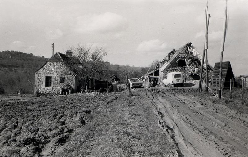 The farmhouse in 1975