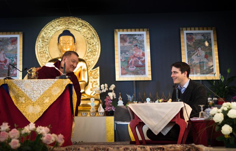"""""""Peu de gens ont eu la chance de le connaître aussi bien que Thinley Rinpoché"""""""