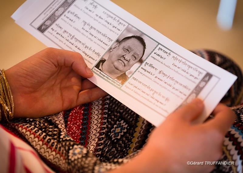 """""""Une accumulation de la Prière de Prompt Retour pour Shamar Rinpoché"""""""