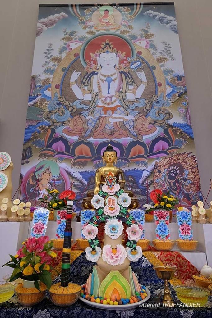 """""""L'essence véritable du bouddhisme est la pratique de la compassion."""""""