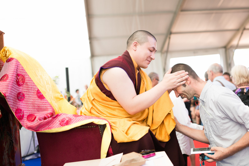 """""""In speaking about the vows, the engagement that we've decided to follow, Karmapa declares that it refers to a lifestyle, an ethical conduct which, far from restricting ourselves to obligations, will bring freshness to the mind, an ease or well-being."""""""