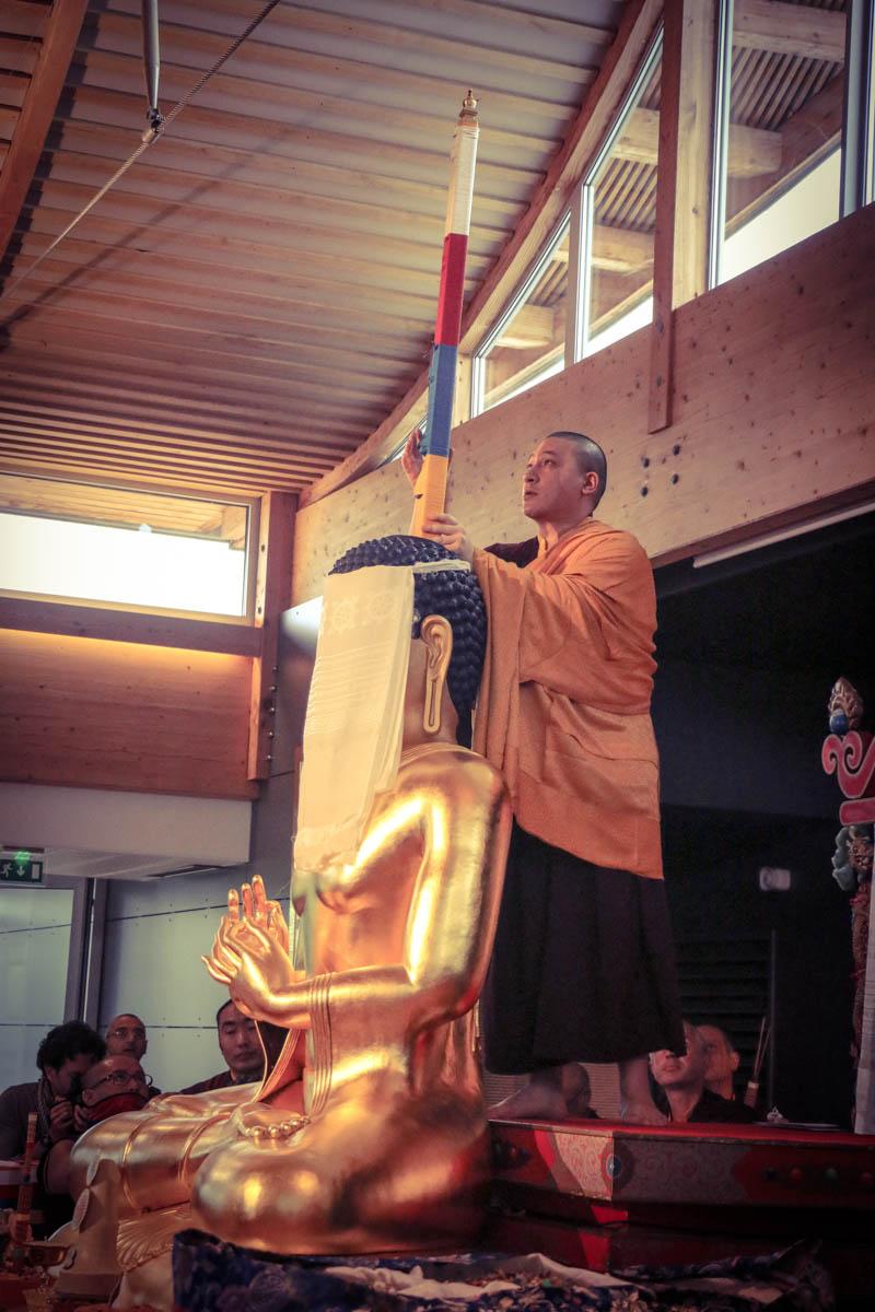 """""""Le sokshing a été placé par Karmapa lui-même (...)."""""""