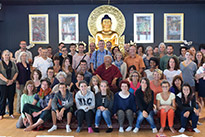 First Education and Youth Forum, summer 2017, led by Lama Jigme Rinpoche
