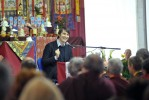 Shamar Rinpoche - Mayo 2012 - © J. Chaunavel