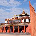 Des monastères et un grand temple pour consacrer sa vie à un chemin de sagesse