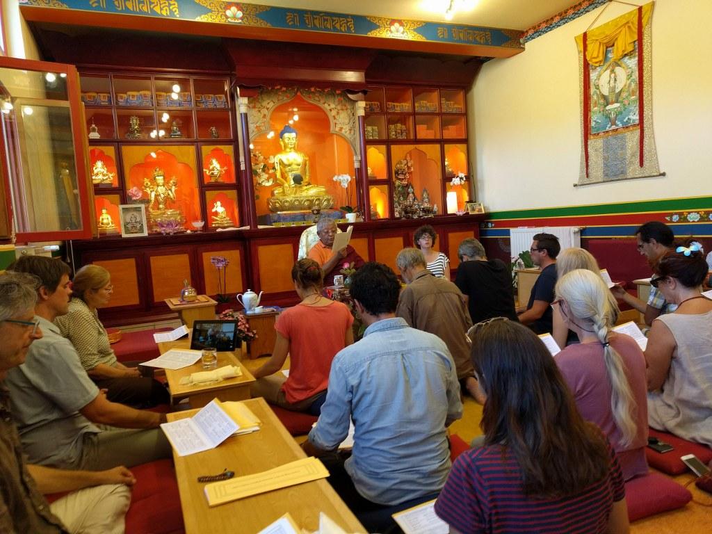 Jigmé Rinpoché á Marfond