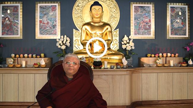 Nouvel an tibétain - Losar 2016 - Lama Jigmé Rinpoché