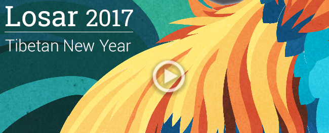Tibetan New Year - Losar 2017 - Meditation, study of the teachings and activity for others!
