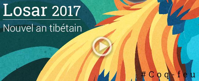 Nouvel an tibétain - Losar 2017 - Méditation, étude des enseignements et activité au service des autres !